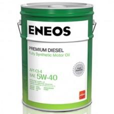 Eneos Premium Diesel 5w-40 20л